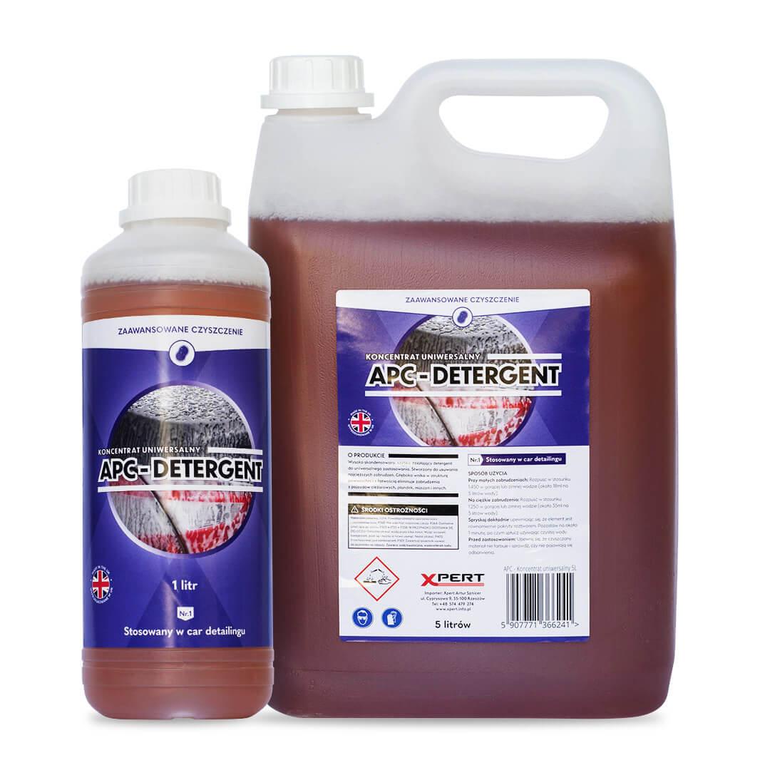 APC Detergent, uniwersalny koncentrat czyszczący (1 litr, 5 litrów)