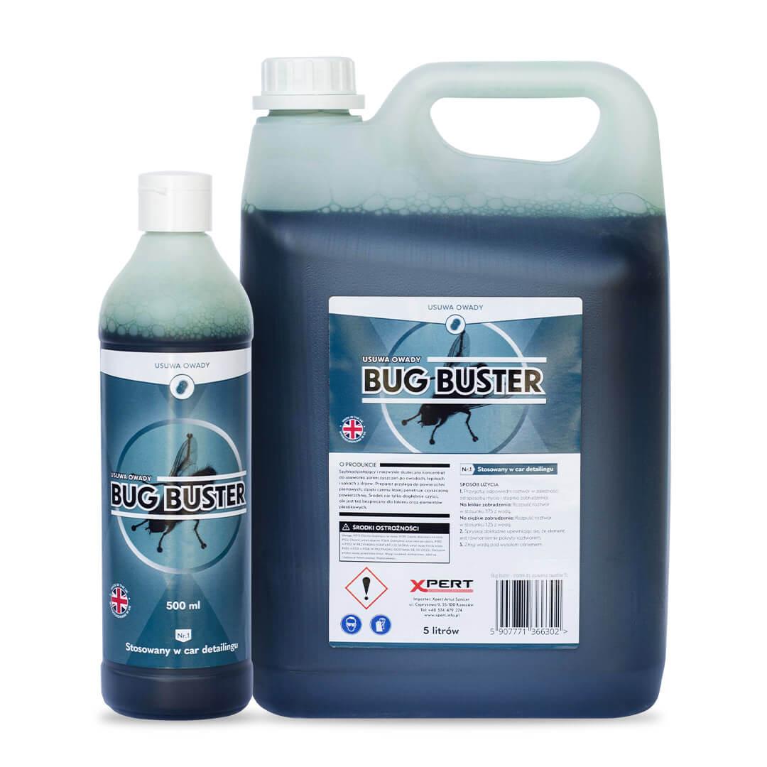 Bug Buster, usuwa owady i lepiki (500 ml, 5 litrów)