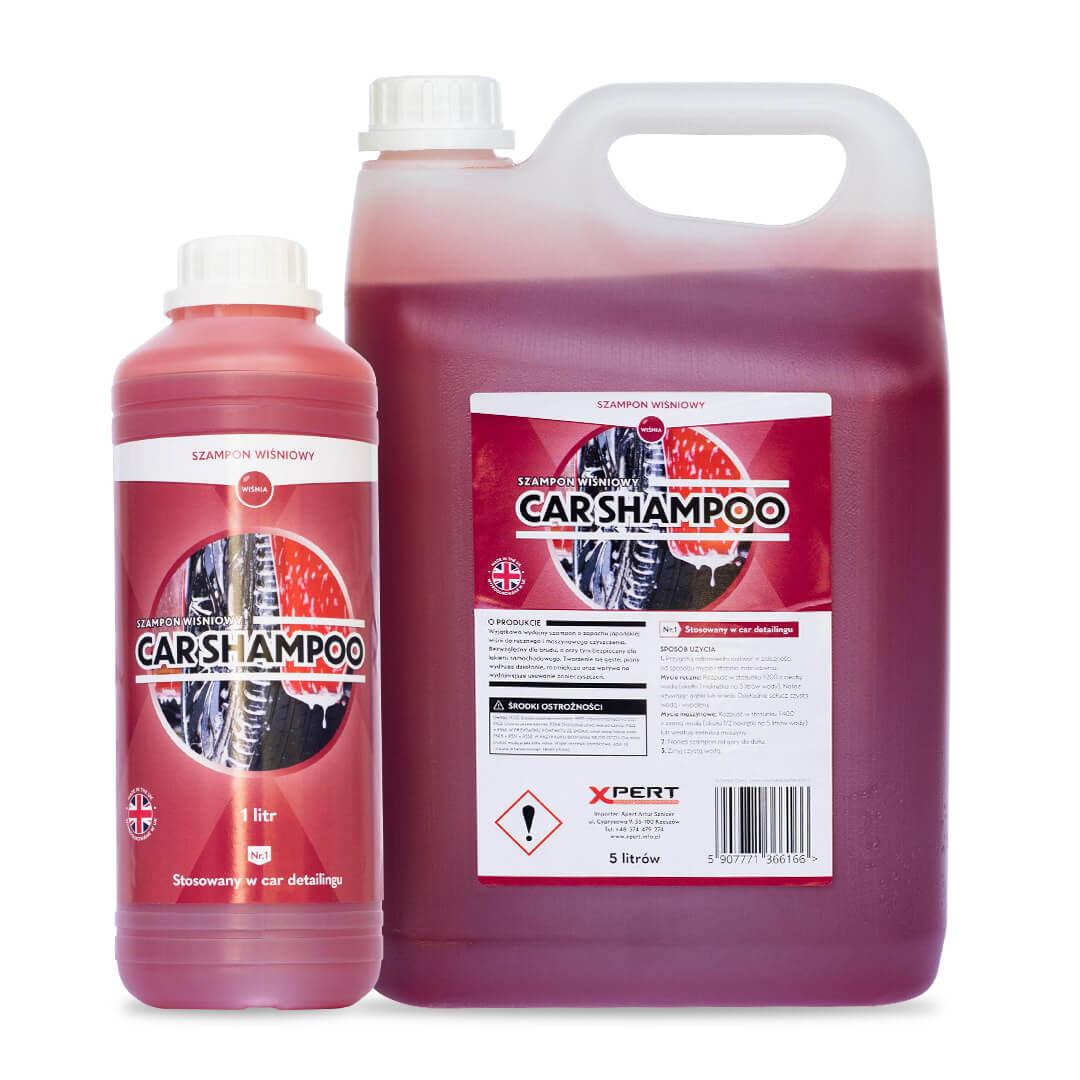 Car Shampoo Wiśnia, szampon do aut (1 litrów, 5 litrów)