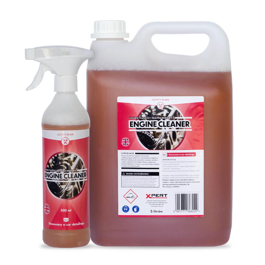 Engine Cleaner, czysty silnik (500 ml, 5 litrów)