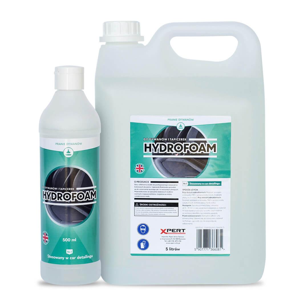 Hydrofoam, pranie dywanów i tapicerek (500 ml, 5 litrów)