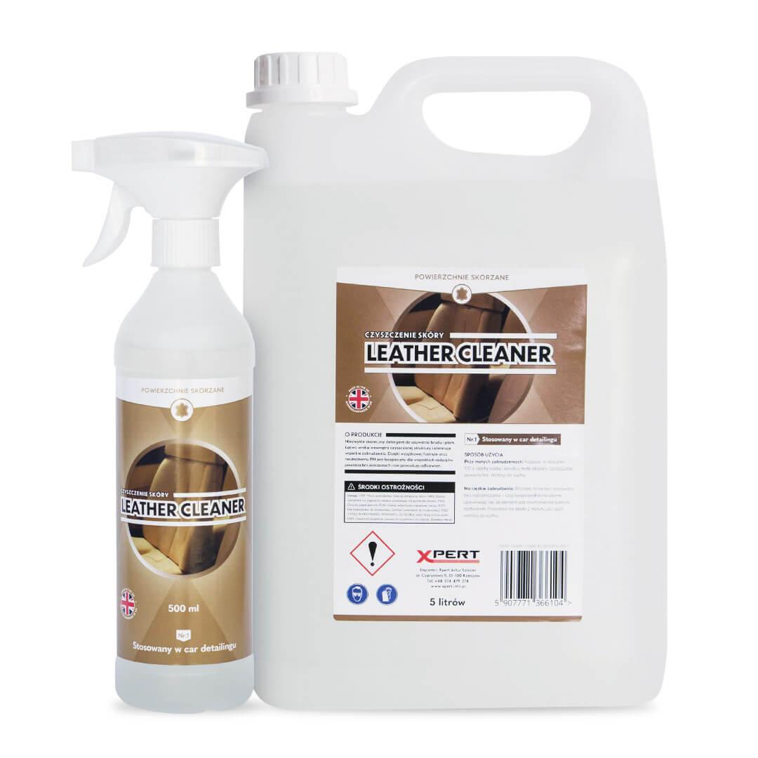 Leather Cleaner, czyszczenie skóry (500 ml, 5 litrów)