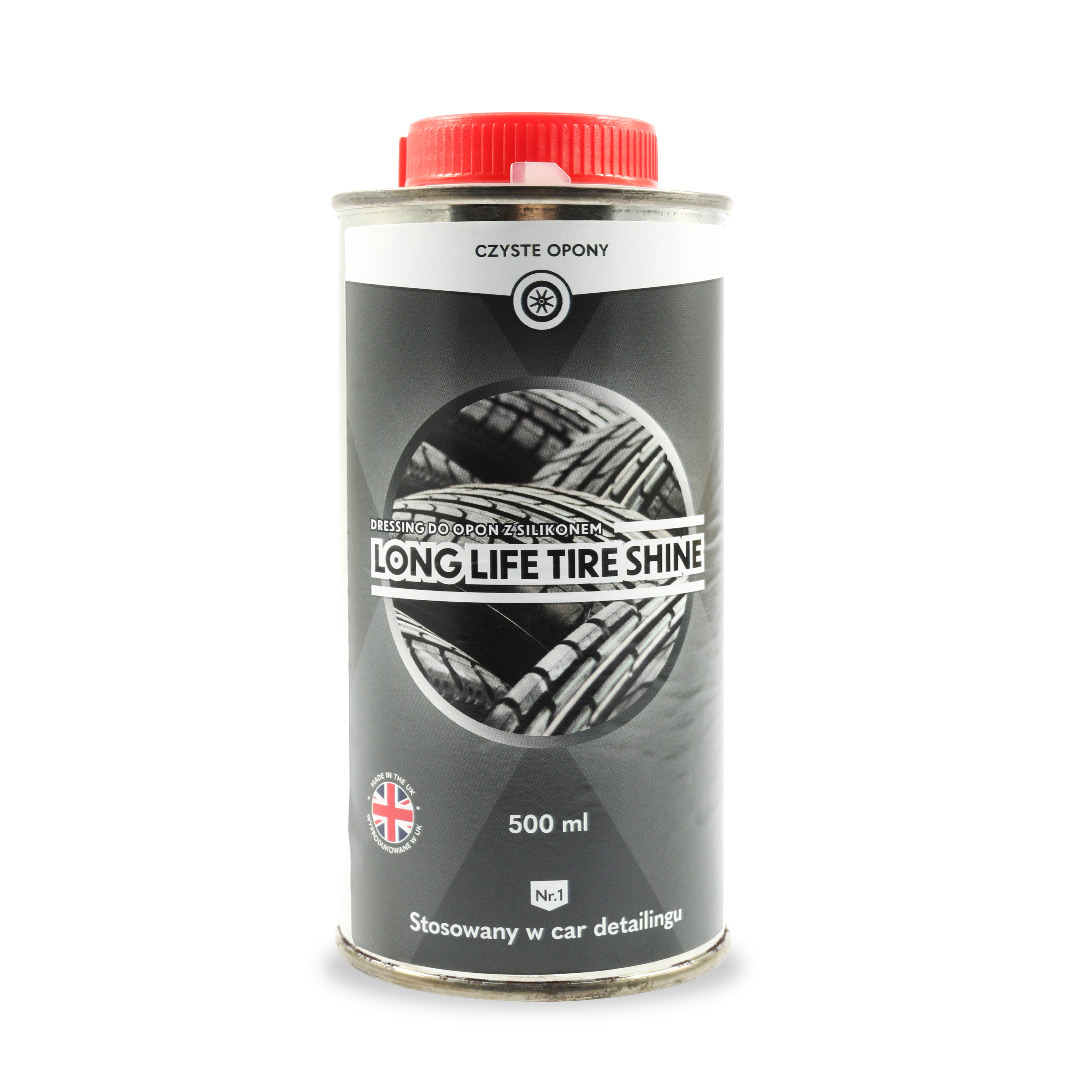 Xpert Long Life Tire Shine - Dressing do opon (puszka 500ml)
