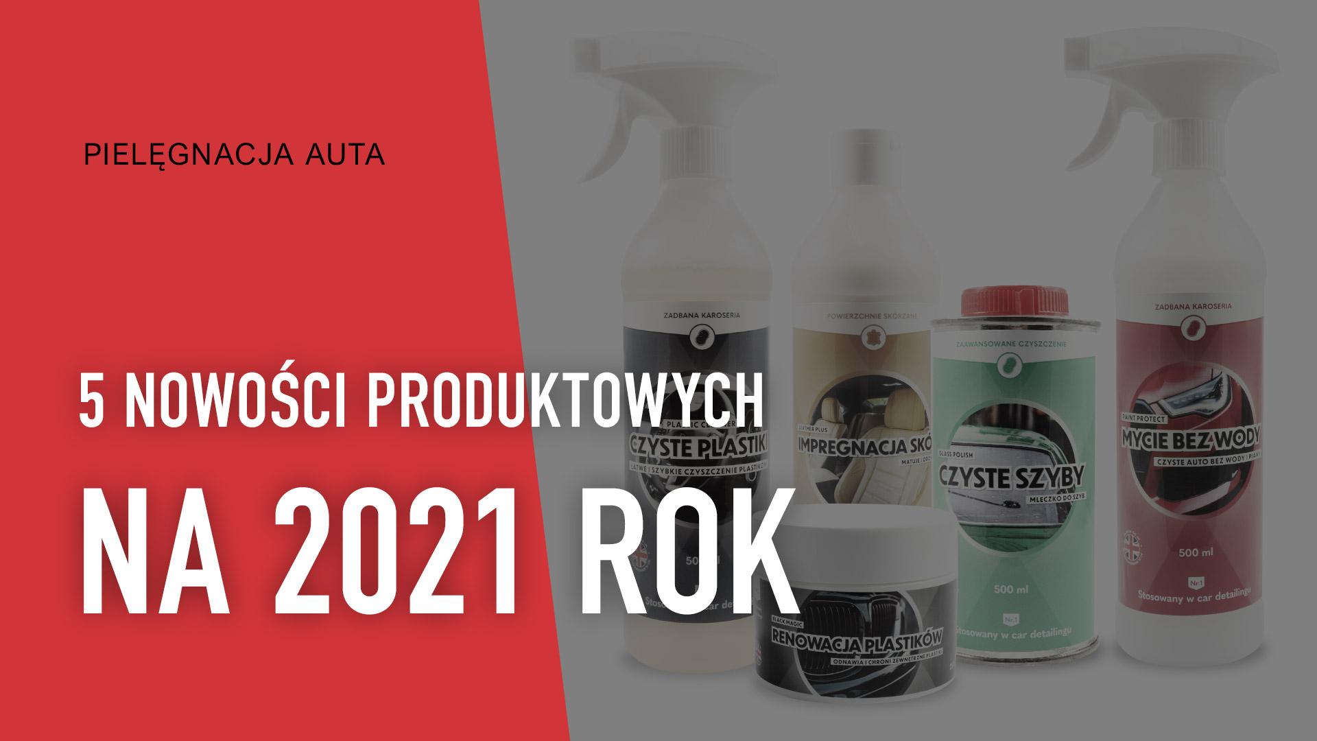 Nowości produktowe Xpert na 2021 rok.
